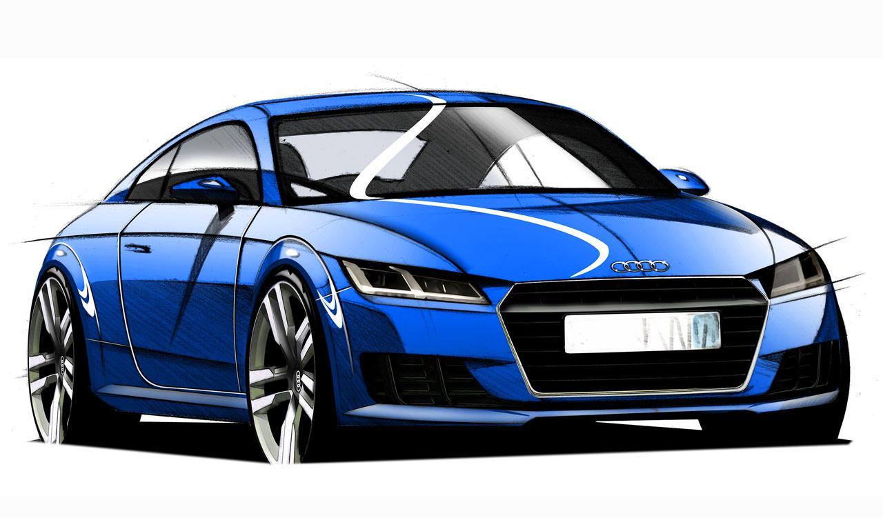 Esbo?o do Audi TT 2015