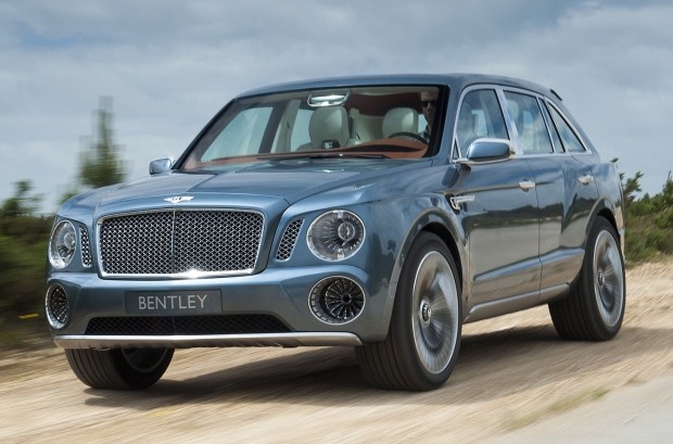 Bentley novo SUV
