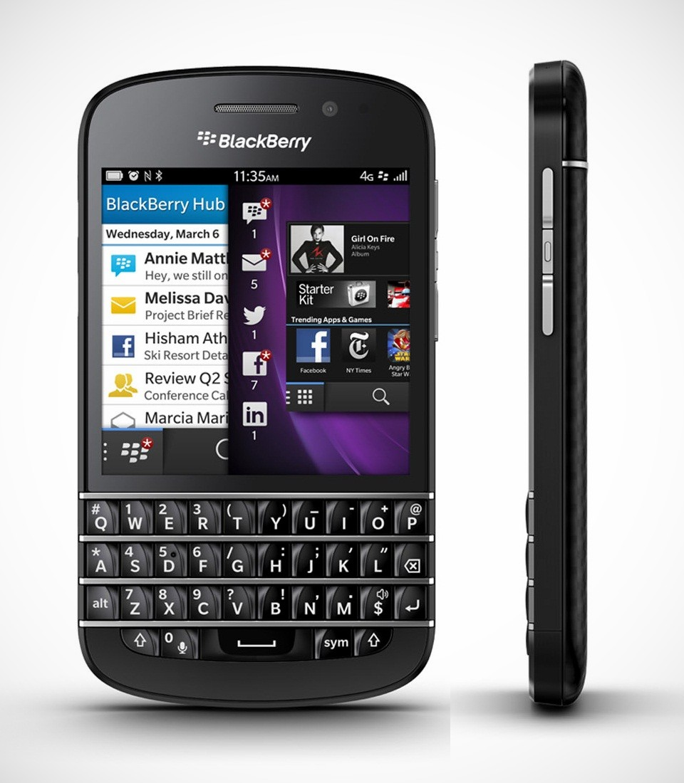 Novo BlackBerry Q10