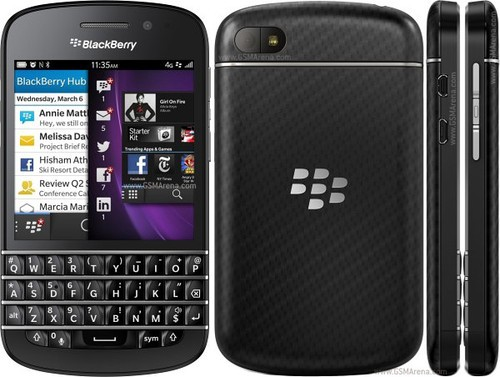 BlackBerry R10 com BB10