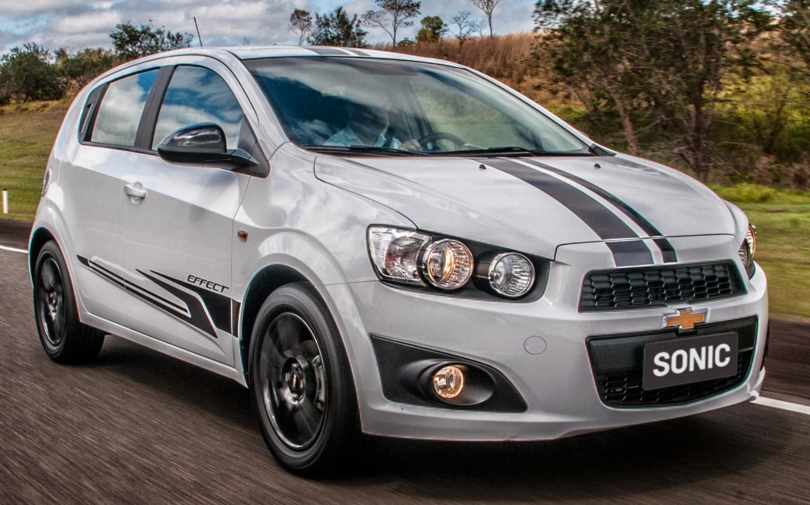 Chevrolet Sonic Effect 2014