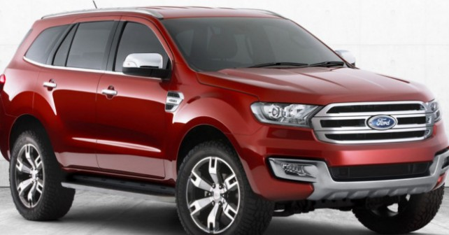 Novo Ford Everest