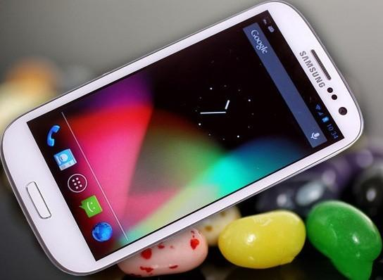 Galaxy S3 receberá o novo Android Jelly Bean 4.2.2
