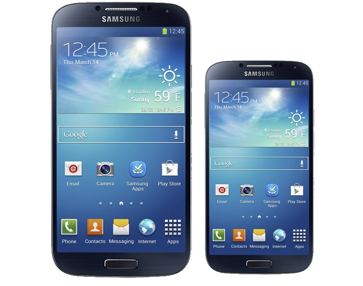 Samsung Galaxy S4 e S4 Mini