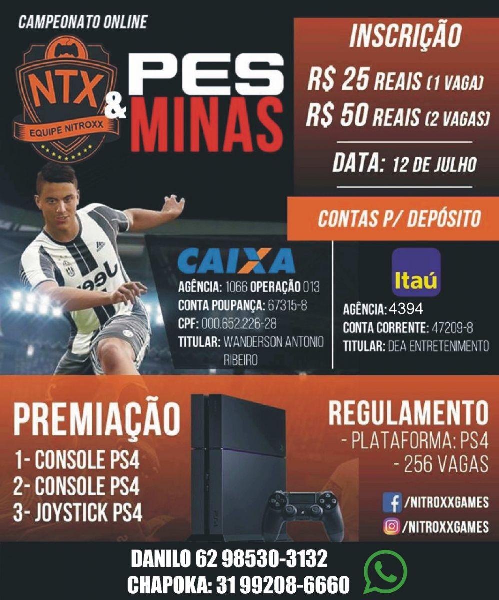 Campeonato Online NXT PES Minas