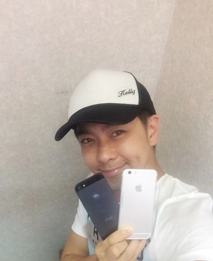 Jimmy Lin com iPhone 6