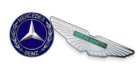 Mercedes-Benz e Aston Martin