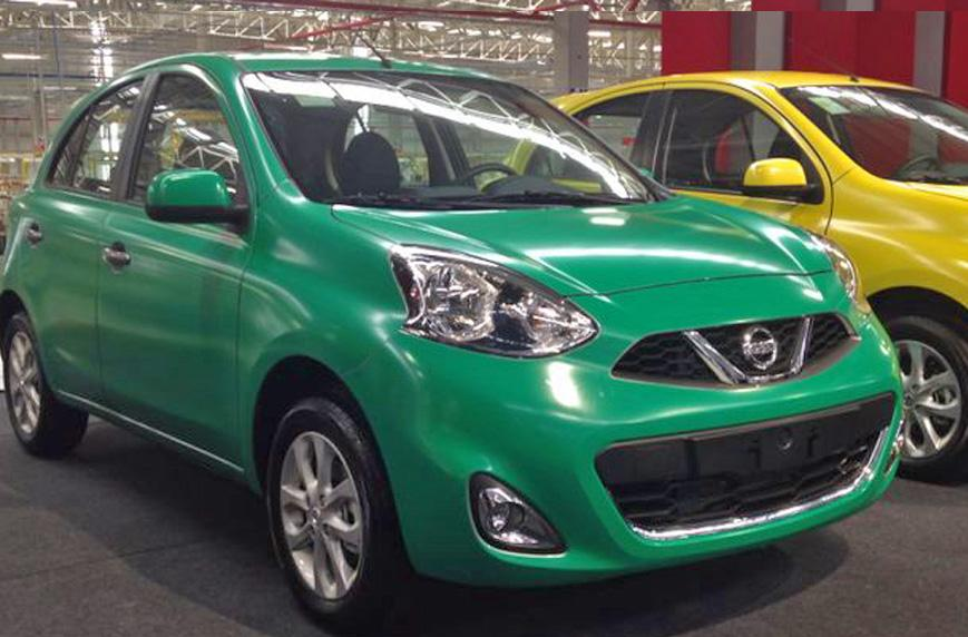 Nissan New March 2015