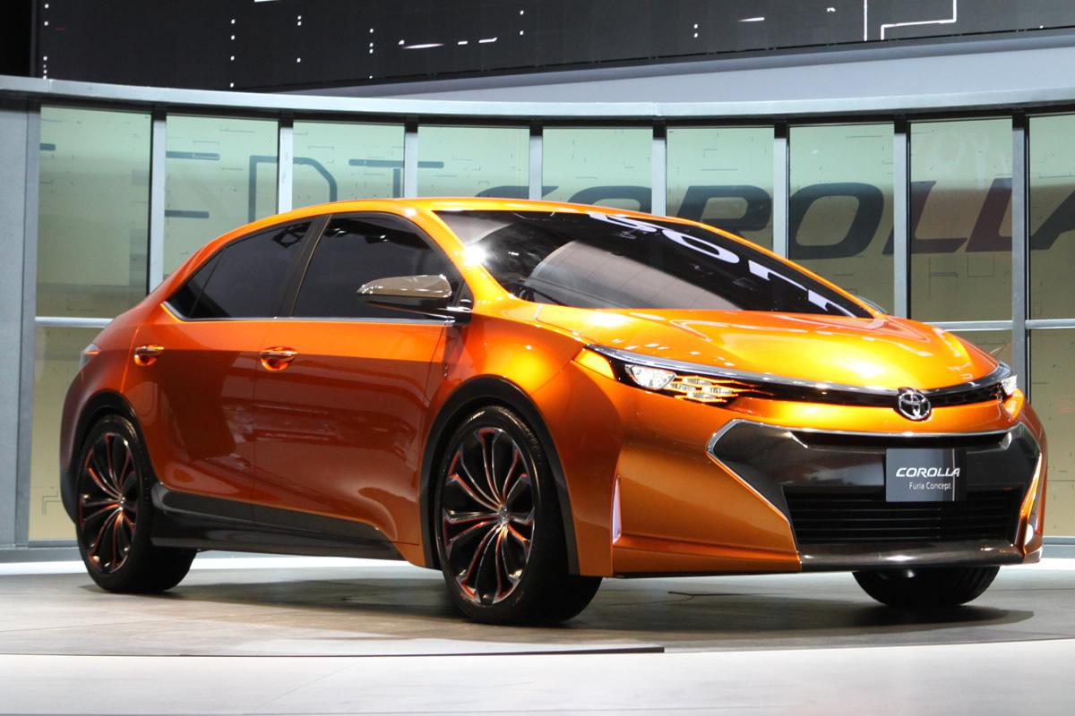 Novo design do Toyota Corolla