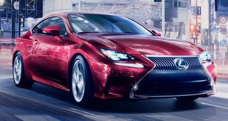 Novo Lexus RC Coupé