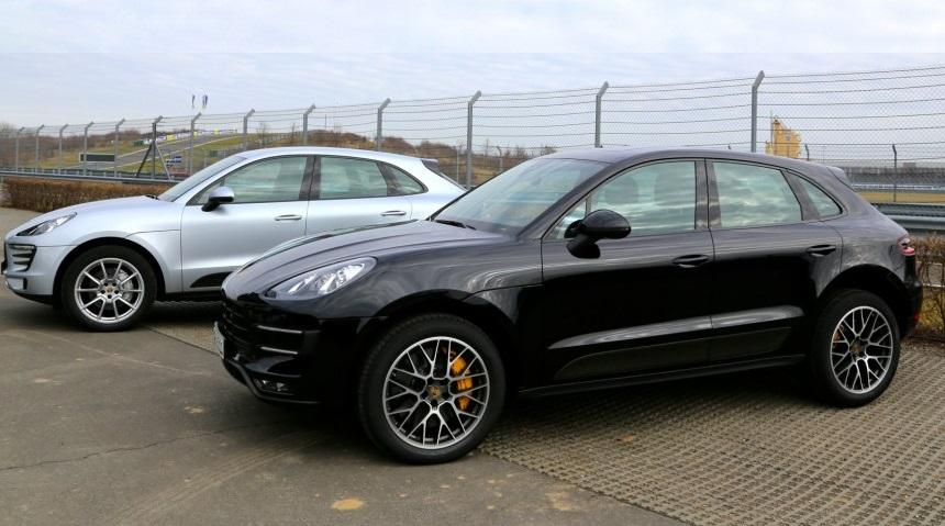 Porsche Macan S e Macan Turbo