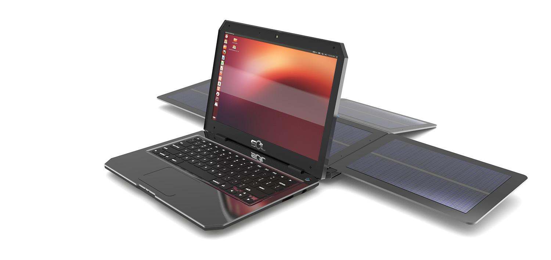 SOL - Novo notebook recarregável por energia solar