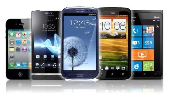 Vendas de smartphones