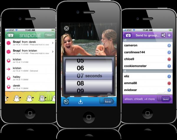 Snapchat - Novo aplicativo para Android e iOS