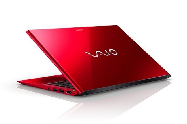 Sony Vaio Red