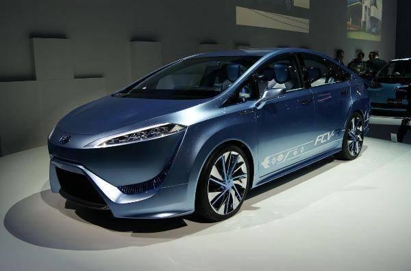 Toyota movido a hidrogênio