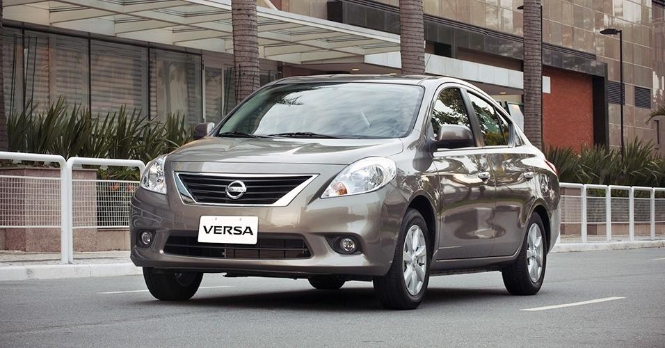 Nissan Versa 2014 no Brasil