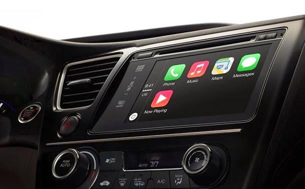 Apple em carros