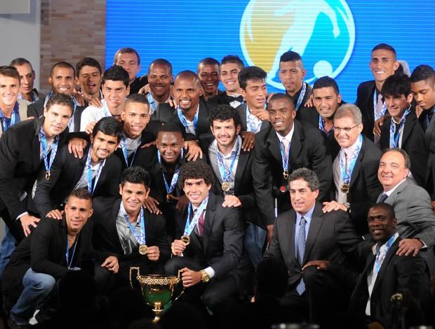 botafogo2 premio craquecarioca andredurao Botafogo domina a Premiação dos Melhores do Campeonato Carioca 2013