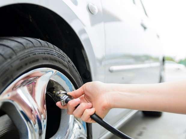 Calibragem dos pneus