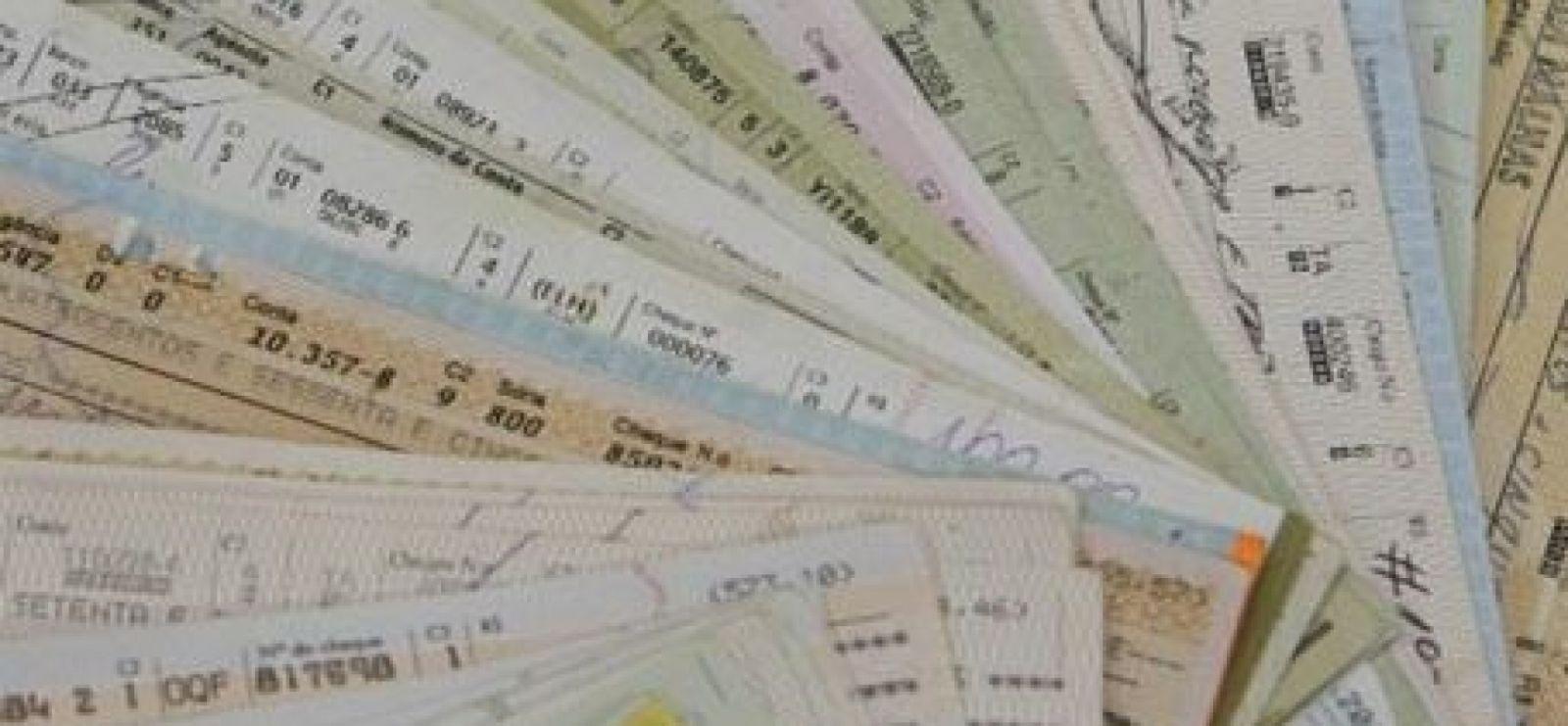 Cheques devolvidos