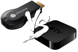 Chromecast x Apple TV
