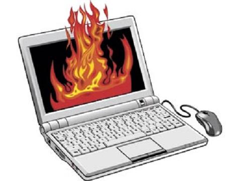 Computador superaquecendo