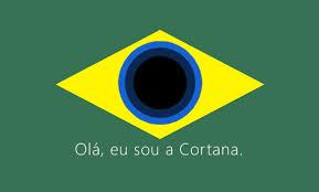 Cortana em português