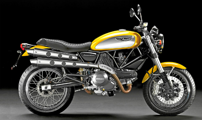 Ducati Scrambler no Brasil