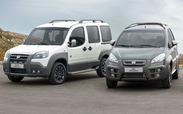Fiat Doblo e Idea Adventure
