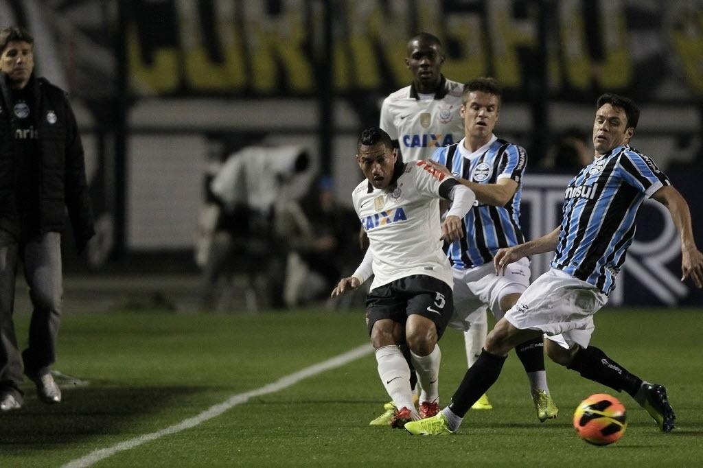 gre2310 Resultado Grêmio x Corinthians   Pênaltis do jogo e Melhores Momentos   Copa do Brasil