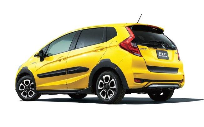 Honda Fit Hybrid Cross Style