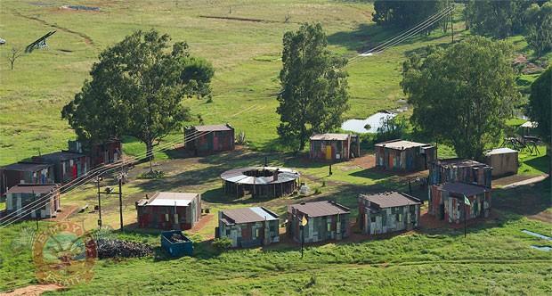 Hotel na África oferece experiência de favela