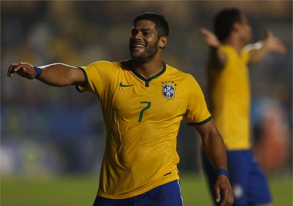 Hulk na Sele??o Brasileira