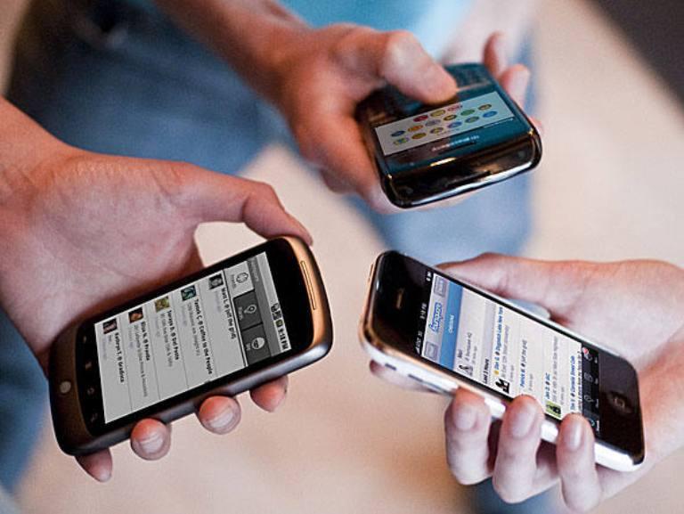Internet em smartphones