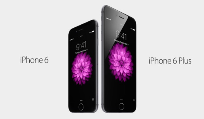 iPhones 6 e 6 Plus