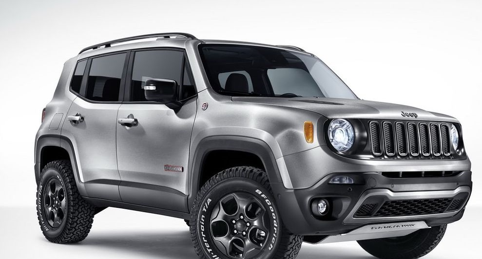Jeep Renegade com trailer