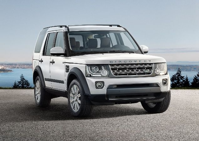 Land Rover Discovery Raw