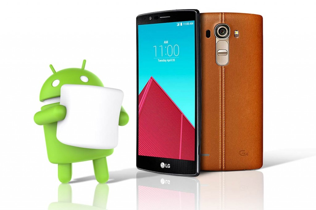 LG G4 com Android Marshmallow