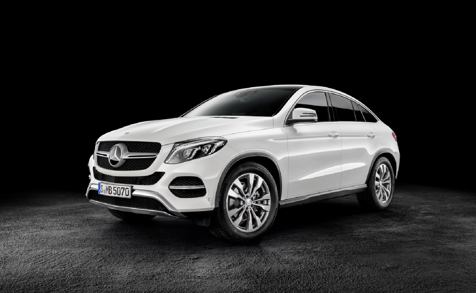 Mercedes-Benz GLE Coupé Starts