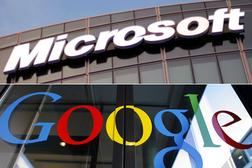 Microsoft e Google