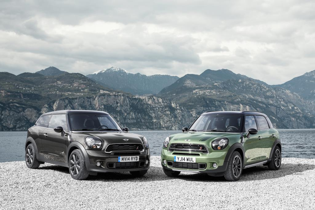 Mini Paceman e Countryman 2015