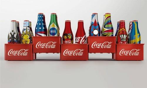 Minigarrafas da Coca-Cola