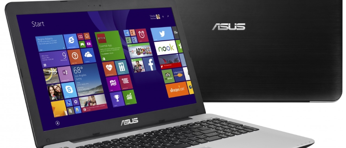 Notebooks da Asus