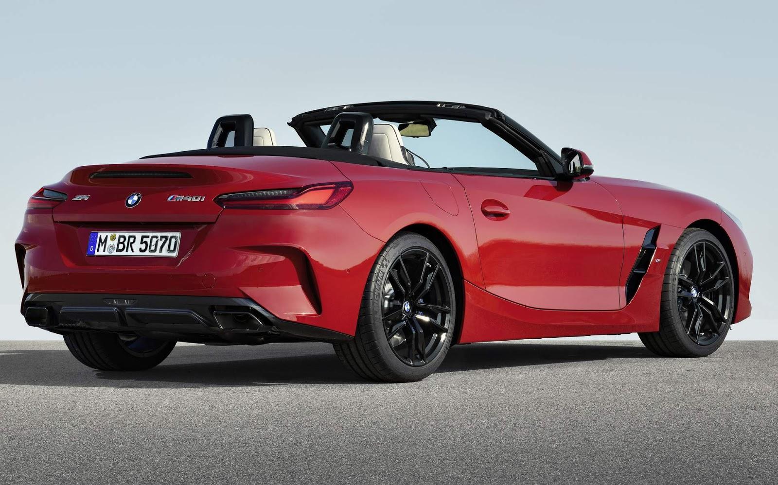 Nova BMW Z4 2019