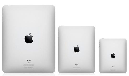 Nova linha de iPads