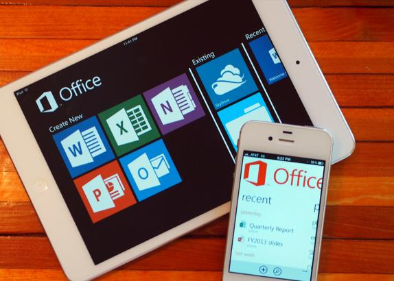 Office para iPad e iPhone