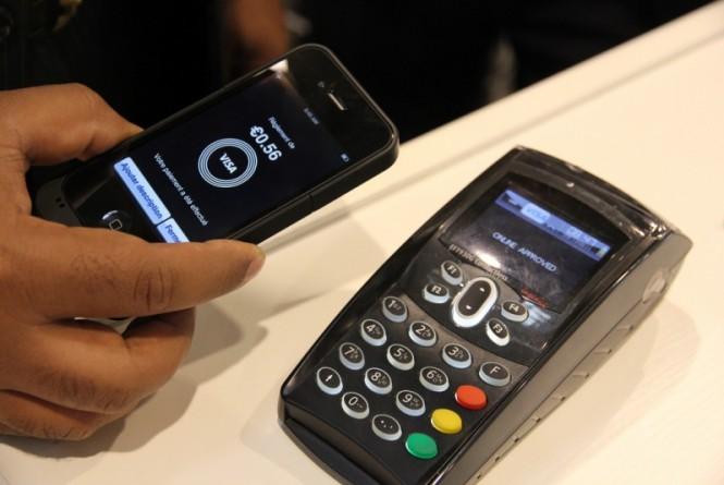 Pagamento por meio de tecnologia NFC
