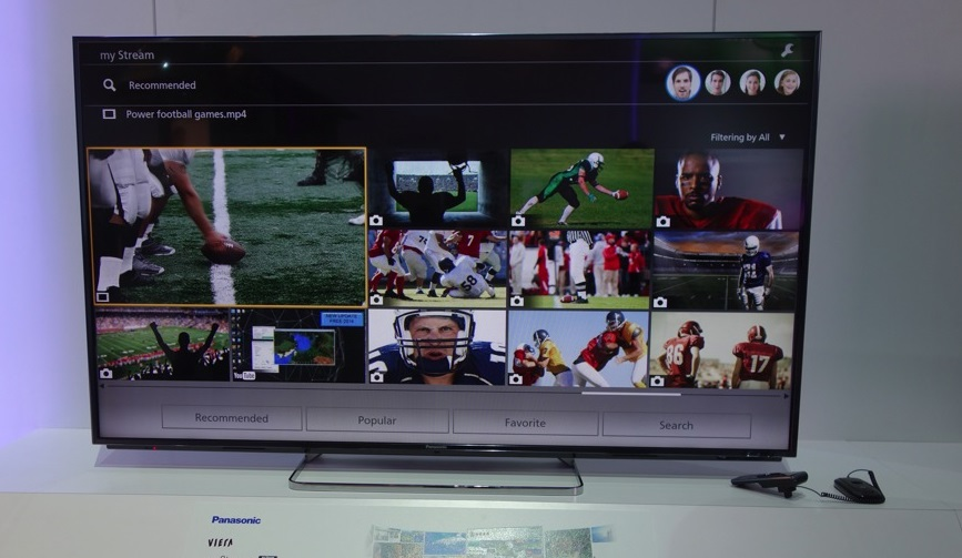 Panasonic TV Life + Screen
