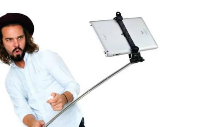 Pau de selfie para iPad